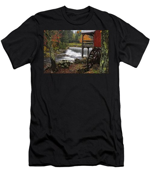 Weston Grist Mill Men's T-Shirt (Athletic Fit)