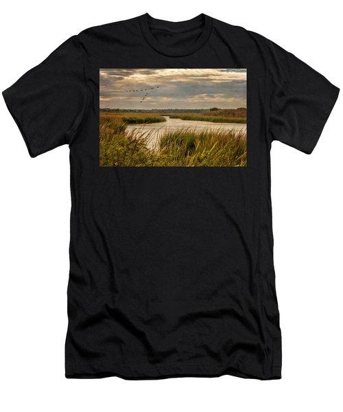 Wetlands In September Men's T-Shirt (Athletic Fit)