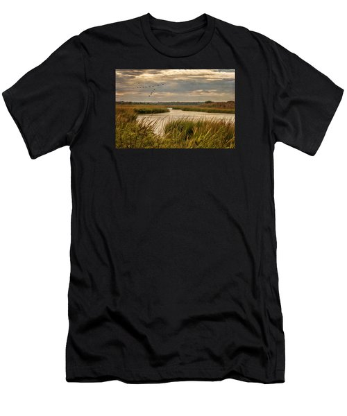 Wetlands In September Men's T-Shirt (Athletic Fit)