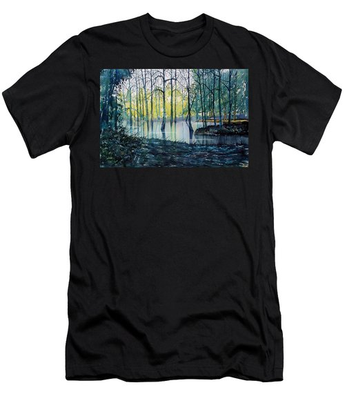 Wetlands On Skipwith Common Men's T-Shirt (Athletic Fit)