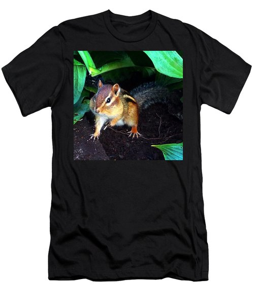 What Are You Looking At Men's T-Shirt (Slim Fit) by Sharon Duguay