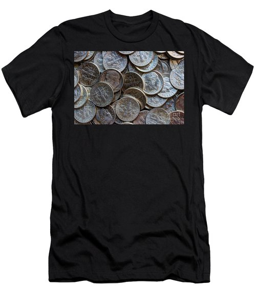 When Dimes Were Made Of Silver Men's T-Shirt (Athletic Fit)