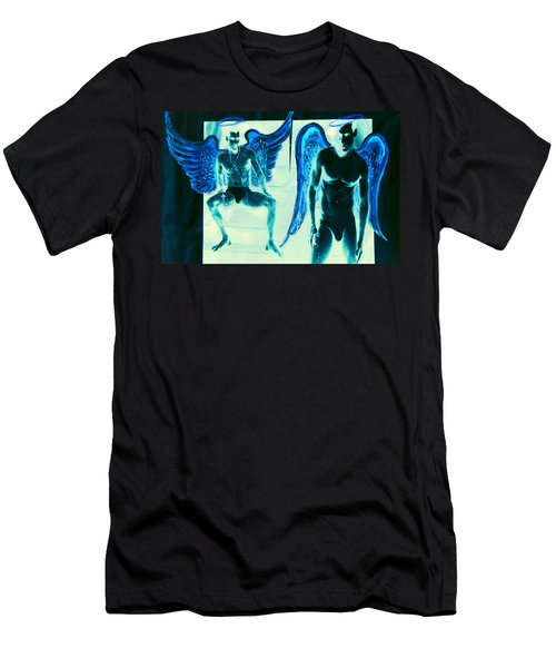 When Heaven And Earth Collide Series Men's T-Shirt (Athletic Fit)