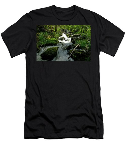 When Snow Melts Men's T-Shirt (Athletic Fit)