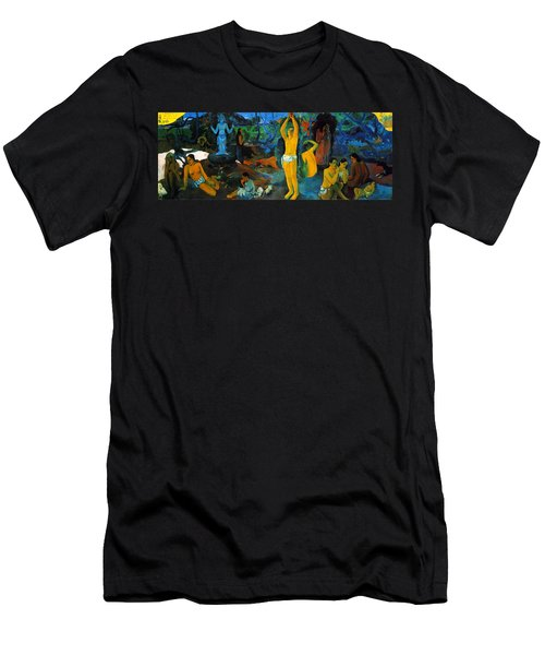 Where Do We Come From. What Are We Doing. Where Are We Going Men's T-Shirt (Slim Fit) by Paul Gauguin