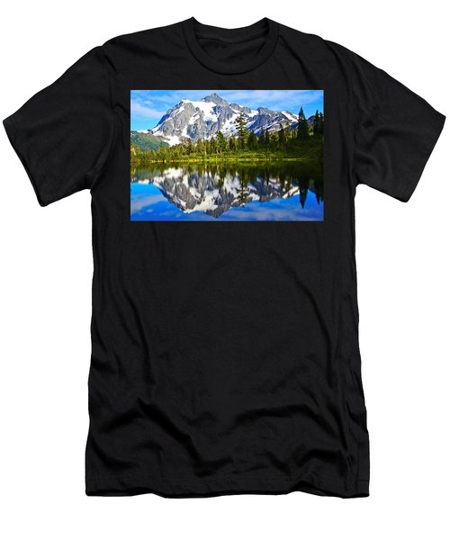 Men's T-Shirt (Slim Fit) featuring the photograph Where Is Up And Where Is Down by Eti Reid