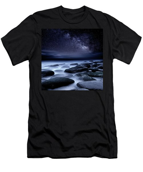 Where No One Has Gone Before Men's T-Shirt (Slim Fit) by Jorge Maia