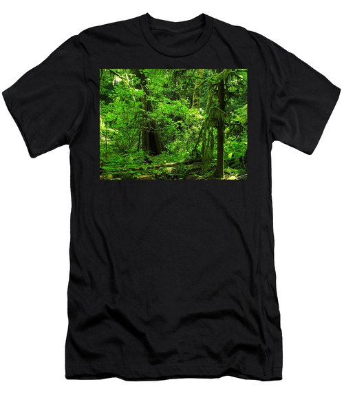Where The Forest People Live Revised Men's T-Shirt (Athletic Fit)
