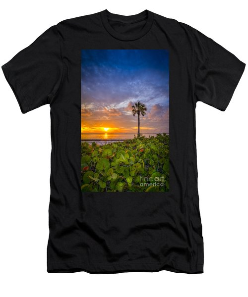 Where The Heart Is Men's T-Shirt (Slim Fit) by Marvin Spates
