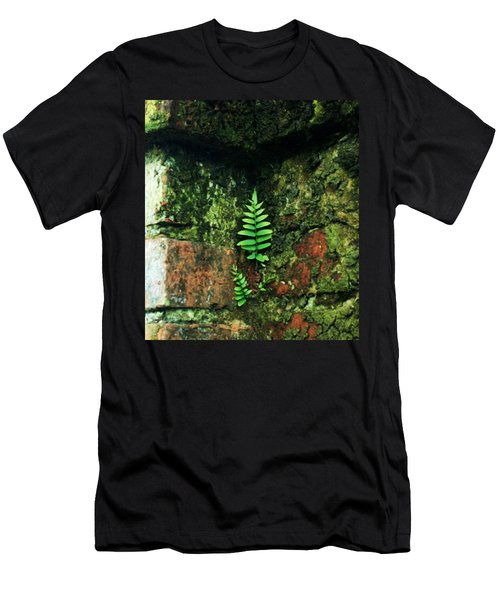 Men's T-Shirt (Slim Fit) featuring the photograph Where There Is A Will by John Glass