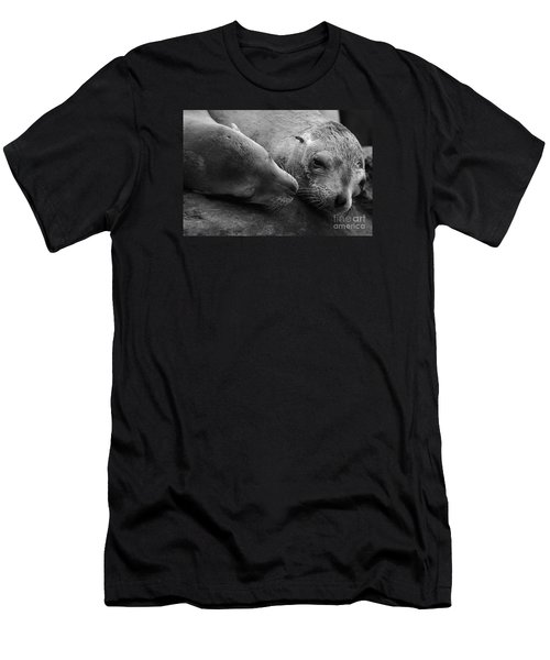 Whisker Love Men's T-Shirt (Athletic Fit)