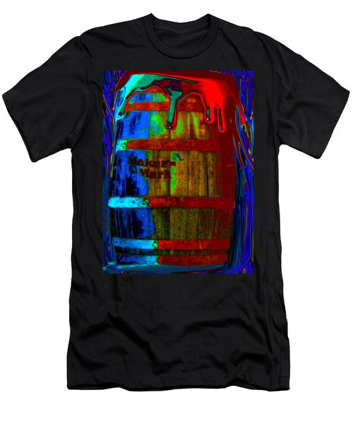 Whiskey A Go Go Men's T-Shirt (Athletic Fit)
