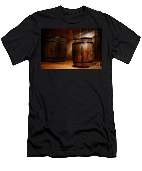 Whisky Barrel Men's T-Shirt (Athletic Fit)