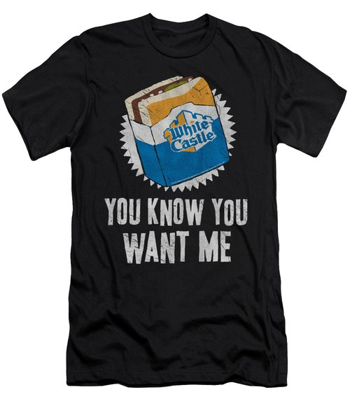 White Castle - Want Me Men's T-Shirt (Athletic Fit)