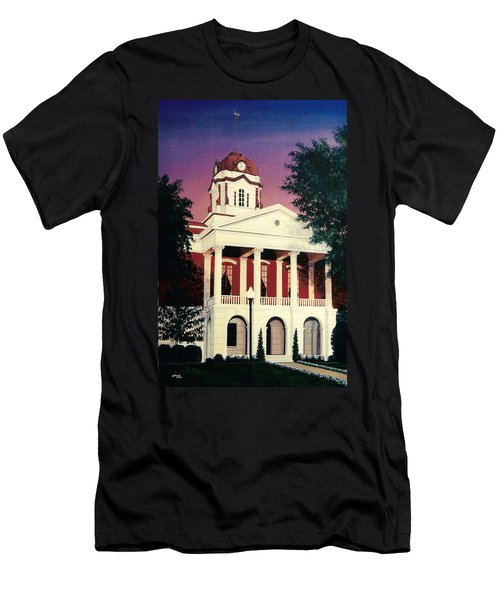White County Courthouse Men's T-Shirt (Athletic Fit)