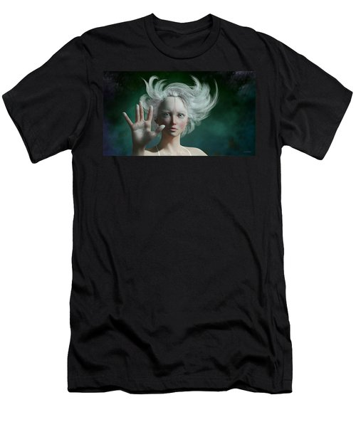 White Faun Men's T-Shirt (Athletic Fit)