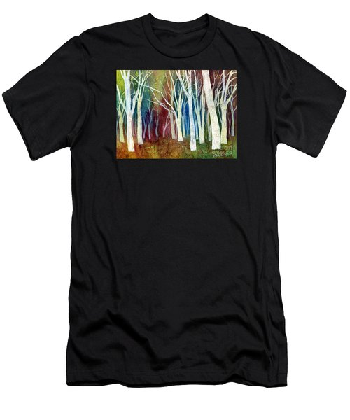 White Forest I Men's T-Shirt (Athletic Fit)