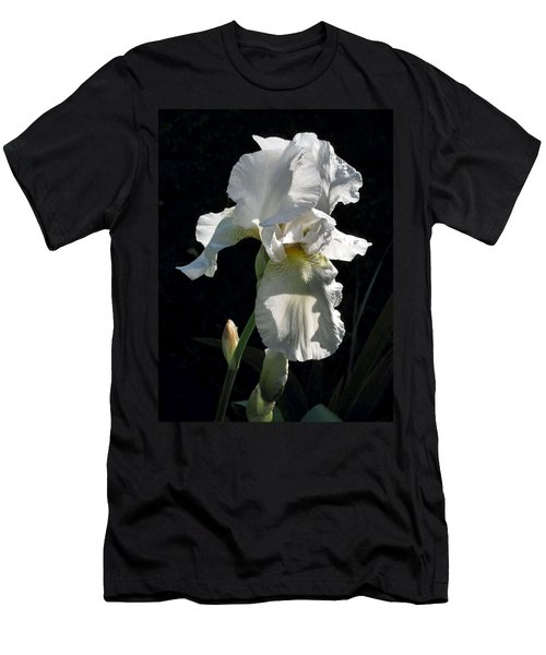 White Iris In The Morning Men's T-Shirt (Athletic Fit)
