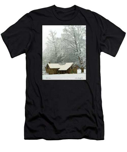 White Lace Men's T-Shirt (Athletic Fit)