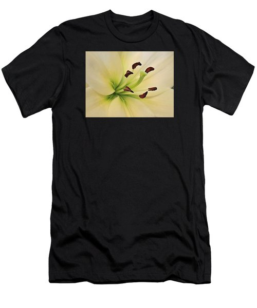White Lily Pp-6 Men's T-Shirt (Athletic Fit)
