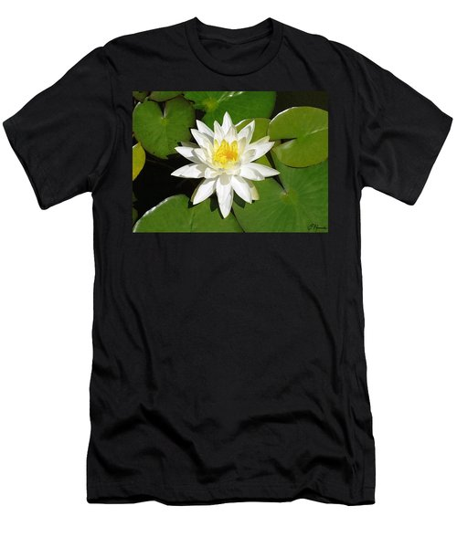 White Lotus 1 Men's T-Shirt (Athletic Fit)