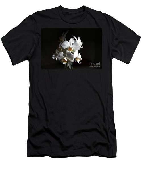 White Orchids Men's T-Shirt (Athletic Fit)