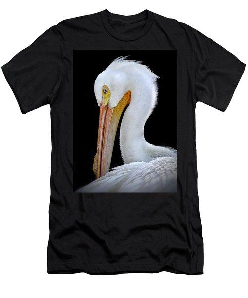White Pelican Men's T-Shirt (Athletic Fit)