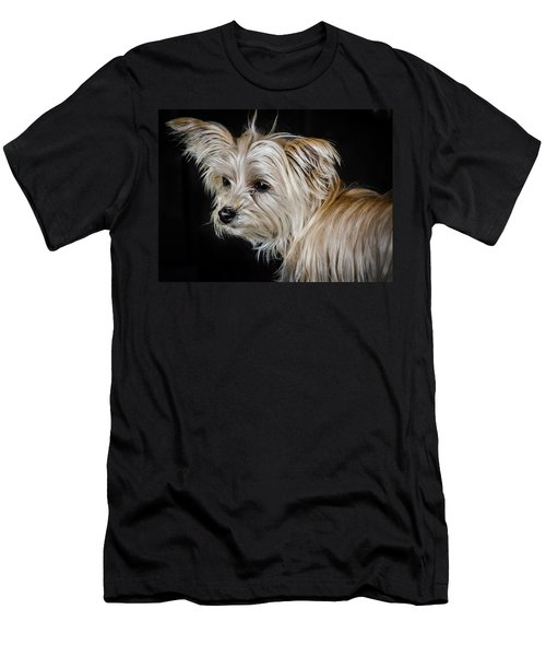 White Puppy Men's T-Shirt (Athletic Fit)