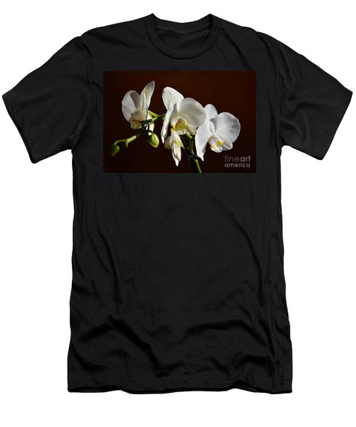 Men's T-Shirt (Slim Fit) featuring the photograph White by Ramona Matei