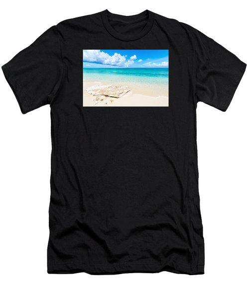 White Sand Men's T-Shirt (Athletic Fit)