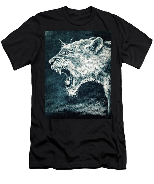 Leon Portrait Men's T-Shirt (Athletic Fit)