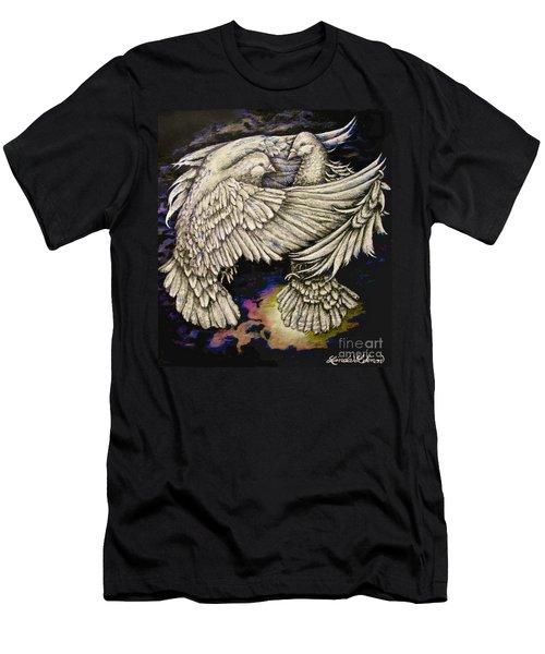 Whites Men's T-Shirt (Slim Fit) by Linda Simon