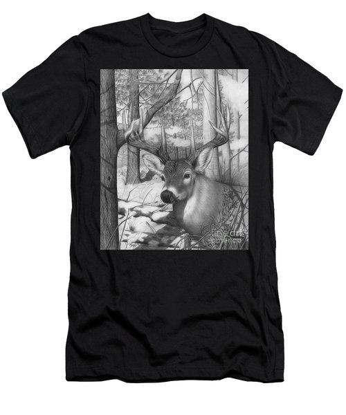 Whitetail Phantom Men's T-Shirt (Athletic Fit)