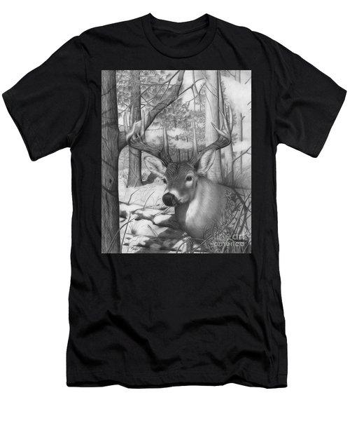 Whitetail Phantom Men's T-Shirt (Athletic Fit)