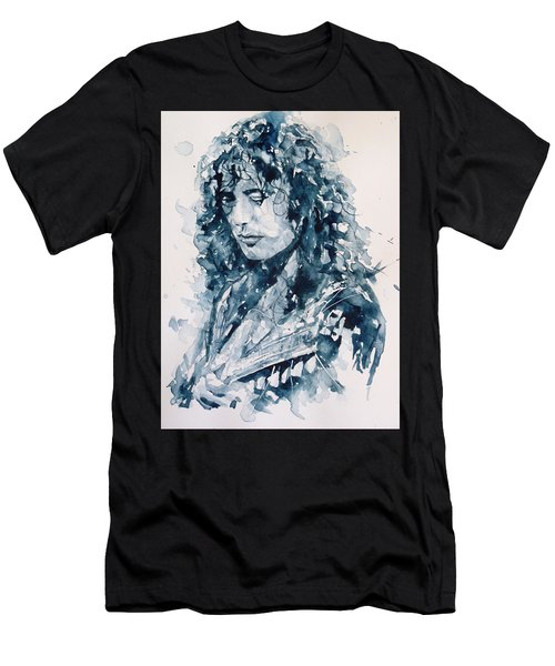 Whole Lotta Love Jimmy Page Men's T-Shirt (Athletic Fit)