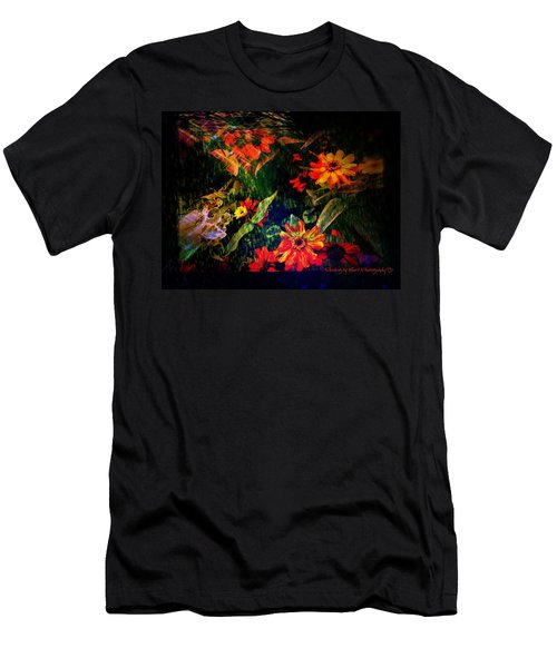 Men's T-Shirt (Athletic Fit) featuring the photograph Wild Flowers by Deahn      Benware