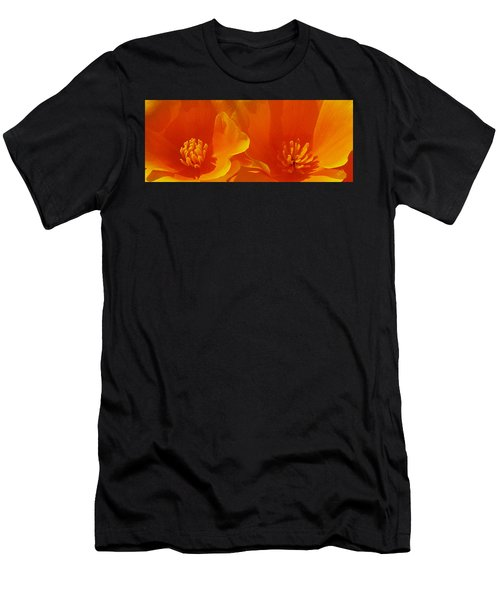 Wild Poppies Men's T-Shirt (Athletic Fit)