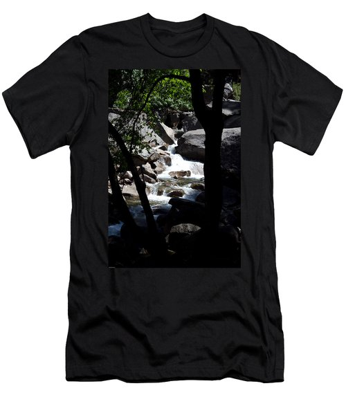 Wild River Men's T-Shirt (Slim Fit) by Brian Williamson