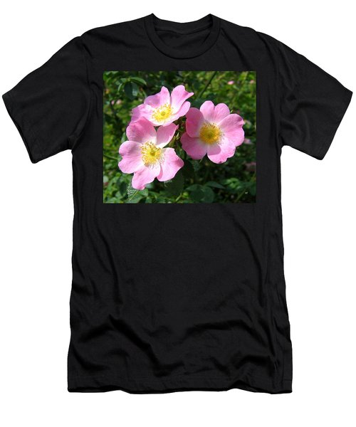 Wild Roses 1 Men's T-Shirt (Athletic Fit)