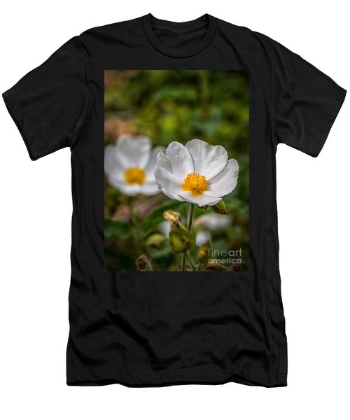 Wildflower Poppin Men's T-Shirt (Athletic Fit)