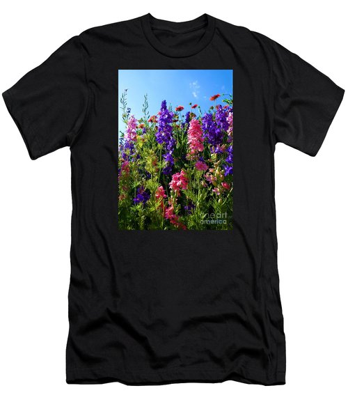 Wildflowers #14 Men's T-Shirt (Slim Fit) by Robert ONeil