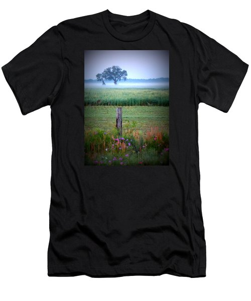 Wildflowers And Fog Men's T-Shirt (Athletic Fit)