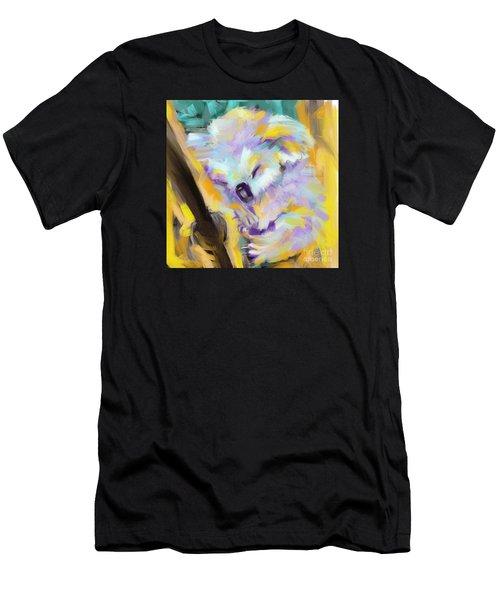 Wildlife Cuddle Koala Men's T-Shirt (Athletic Fit)