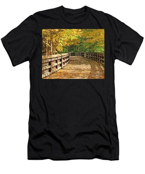 Wildwood Boardwalk Corrected Men's T-Shirt (Athletic Fit)