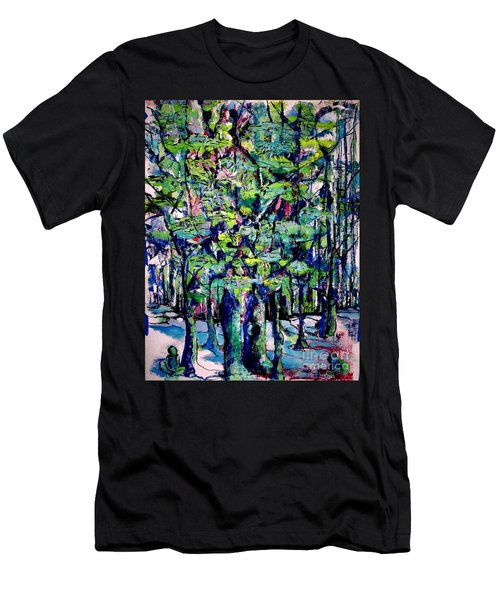 Will His Playground Exsist? Men's T-Shirt (Athletic Fit)