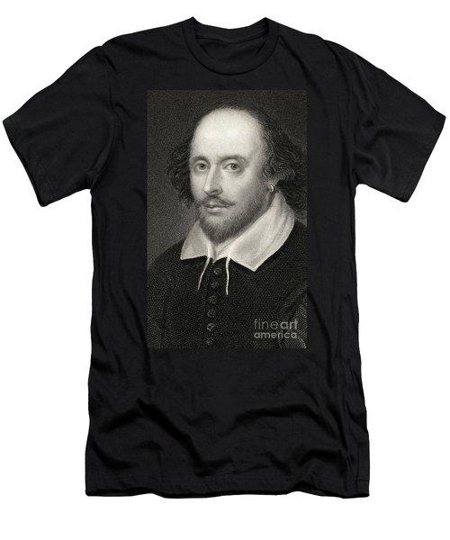 William Shakespeare Men's T-Shirt (Athletic Fit)