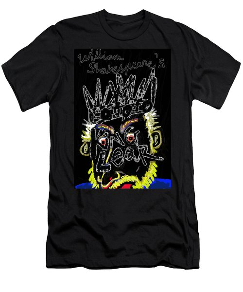 William Shakespeare's King Lear Poster Men's T-Shirt (Athletic Fit)