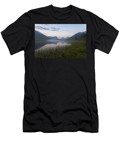Men's T-Shirt (Athletic Fit) featuring the photograph Wind River Morning by Dustin  LeFevre