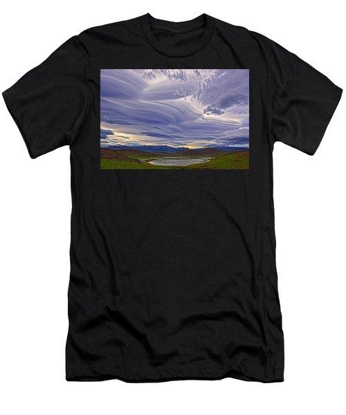 Wind Sculpture Men's T-Shirt (Athletic Fit)
