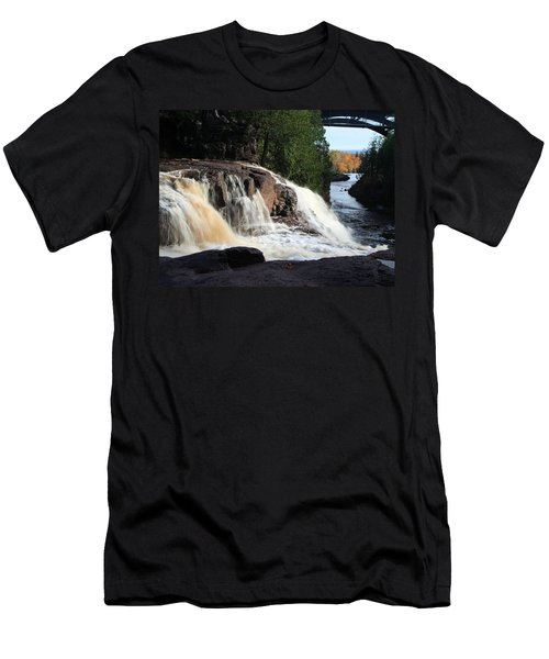 Winding Falls Men's T-Shirt (Athletic Fit)